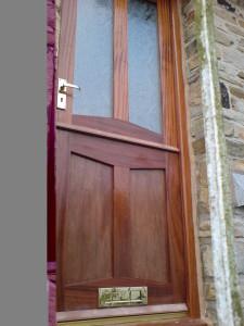 Hardwood purpose made stable door