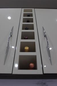Purpose made wine rack