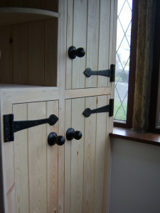 This was a cupboard in a porch that was to be used to store shoes etc. Dimensions were very specific to customers needs.